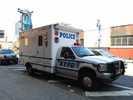 NYPD Hostage Negotiation Unit parked near Seward Park