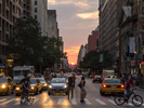 Manhattanhenge down 23rd Street