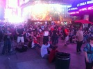 Huge turnout in Times Square