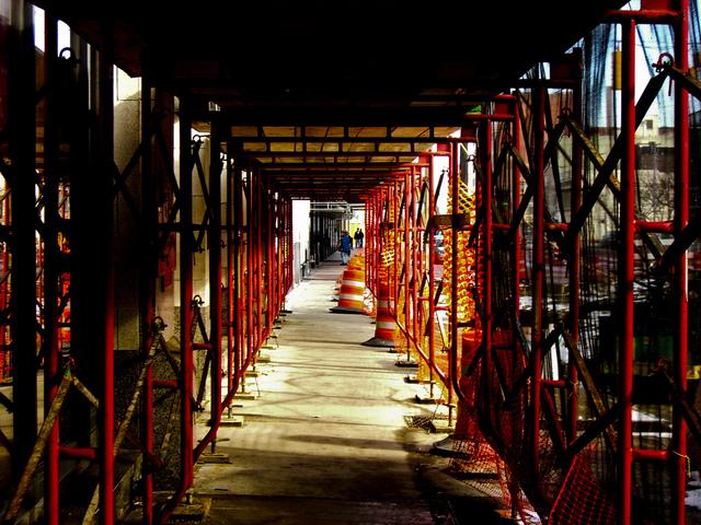 Construction Tunnel