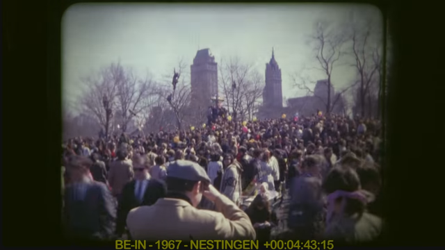 1967 Central Park Be-In