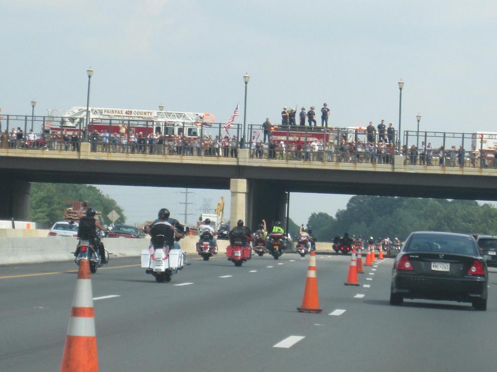 9/11 memorial motorcycle ride Virginia August 2011