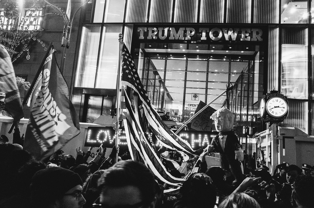 New York rally against Trump, 11/9/2016