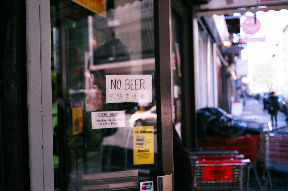 No Beer, Ludlow Street
