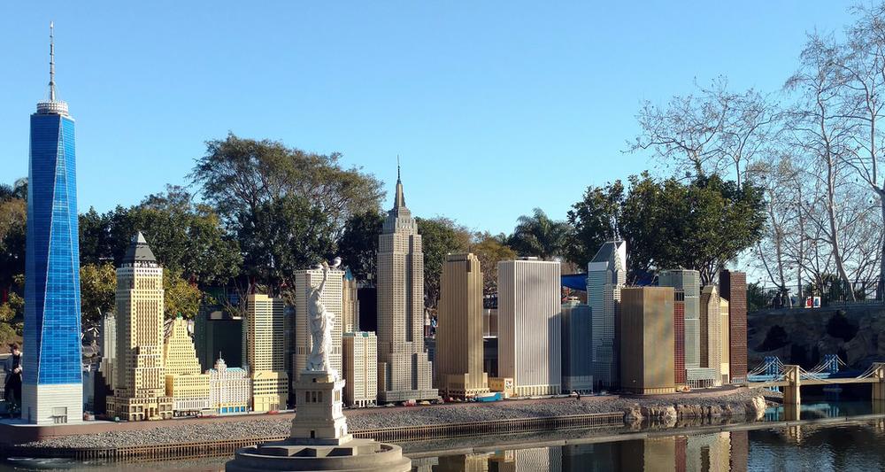 LEGO NYC skyline