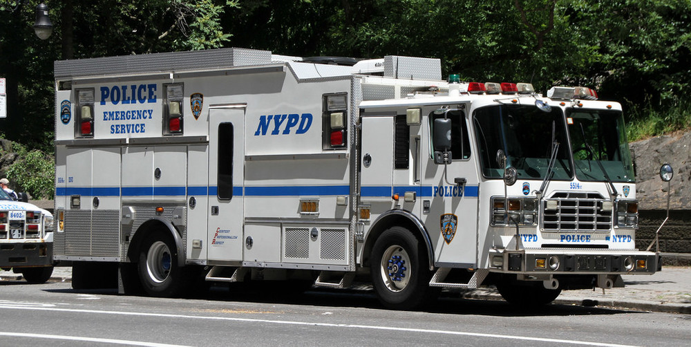 NYPD Police Emergency Vehicle