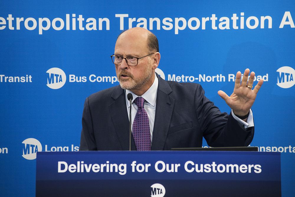 Chairman Lhota Unveils Subway Action Plan